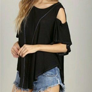 Free People We the Free You So Fancy Tee Size S